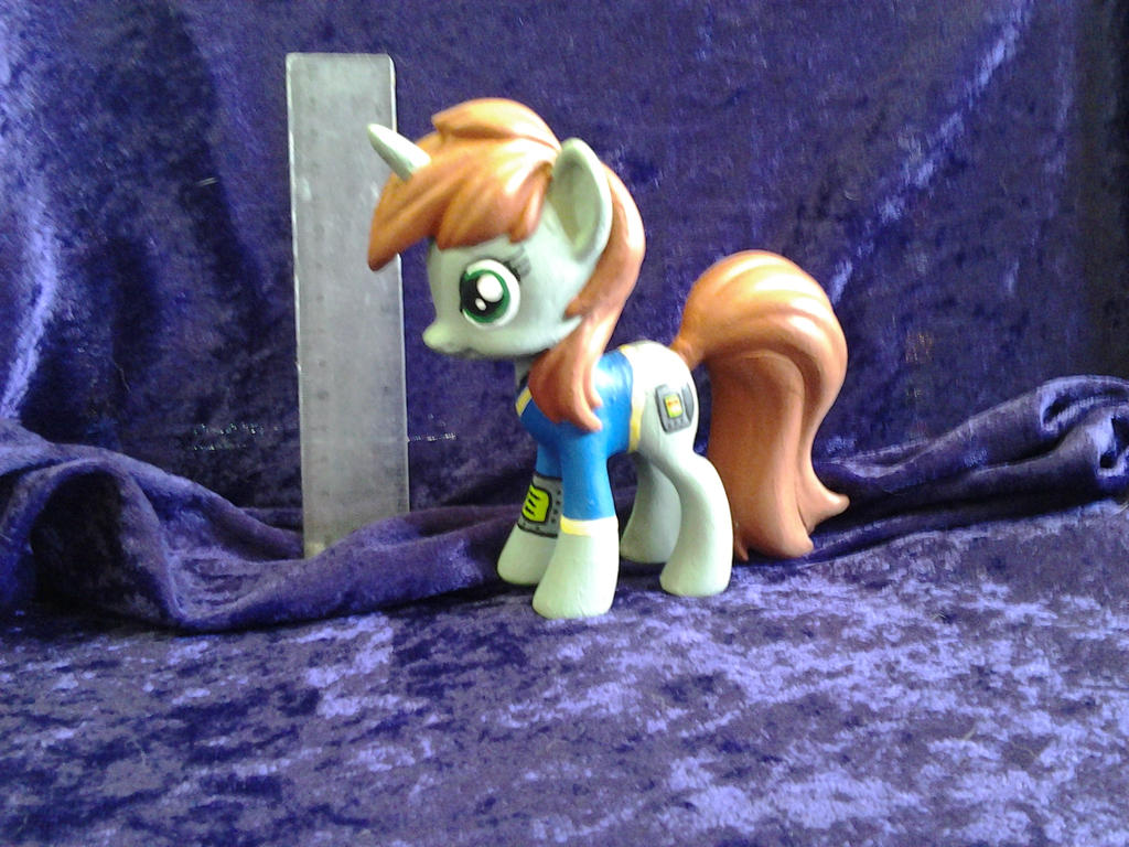 Custom Littlepip Fallout Equestria by Nightwings-81