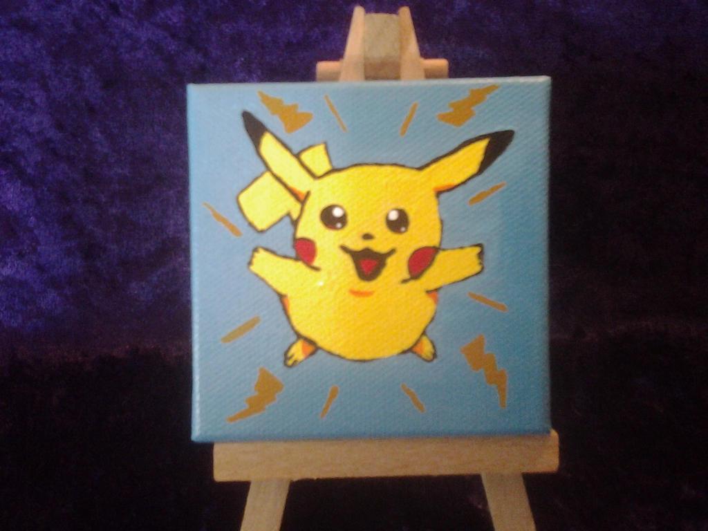 Petite Portrait Pikachu by Nightwings-81