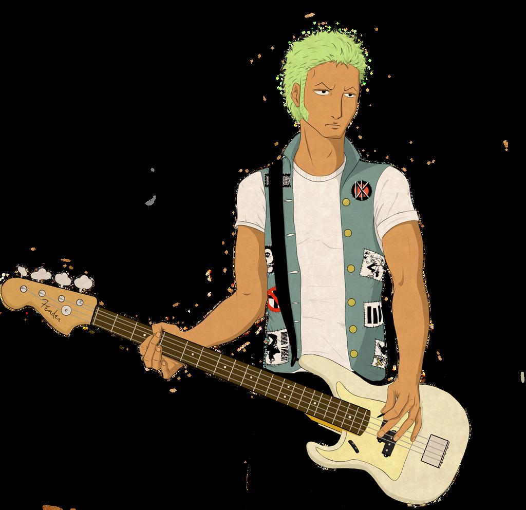 Zoro is- A Punk Rocker!