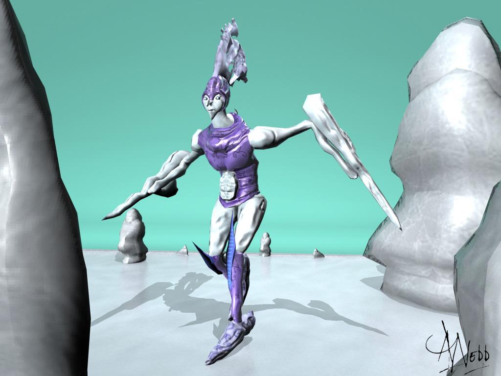 Jack Frost 3D Model by aawebb81