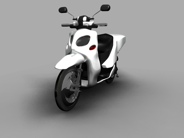 Yamaha Xenter 125 Three Quarter View by aawebb81