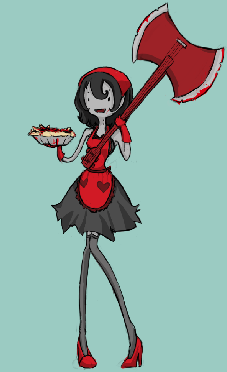 Marceline the House Wife by PinkHitman