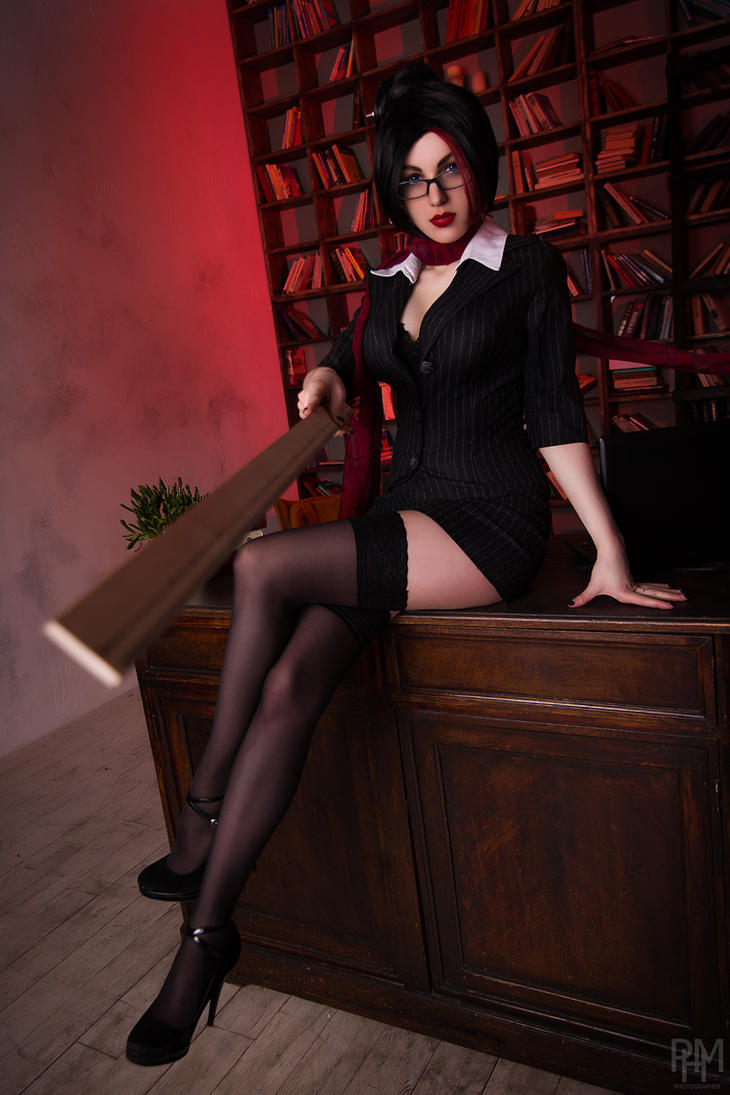 Headmistress Fiora by PolinaBilka