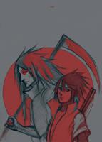 Another Madara and Sasuke by RisingMonster