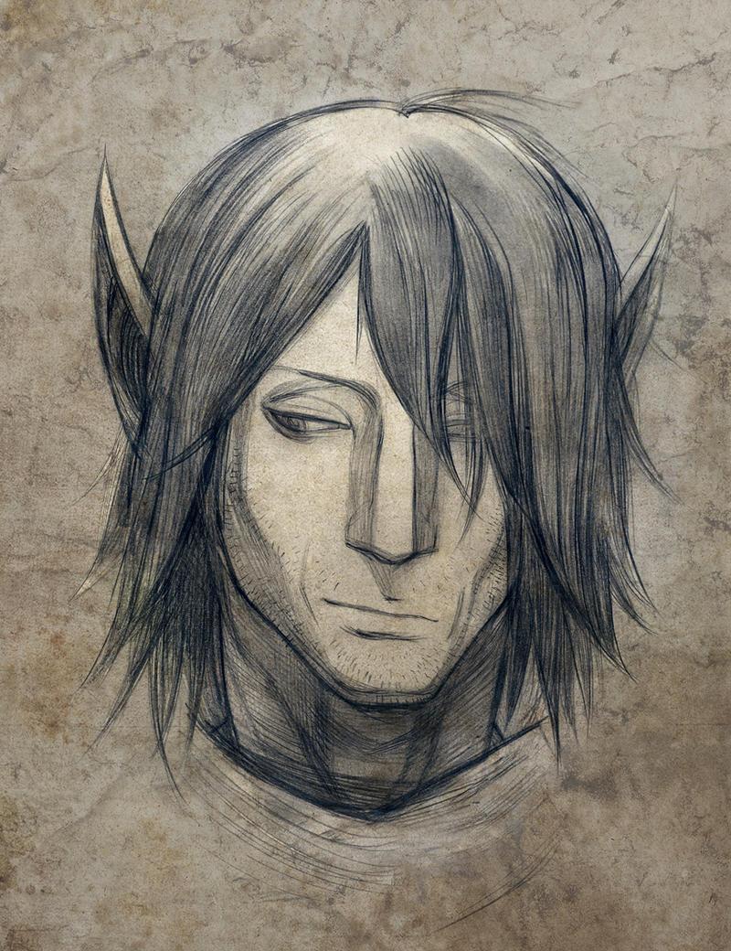 Morrowind faces: Elam by RisingMonster