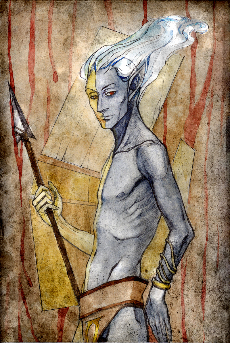 Lord Vivec by RisingMonster