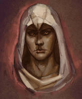 Altair sketch by RisingMonster