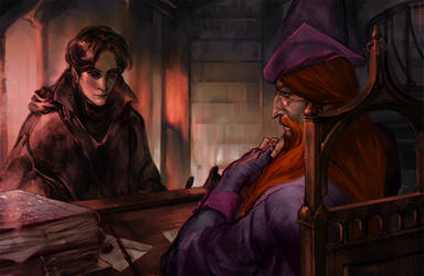 Lord Voldemort's request by RisingMonster