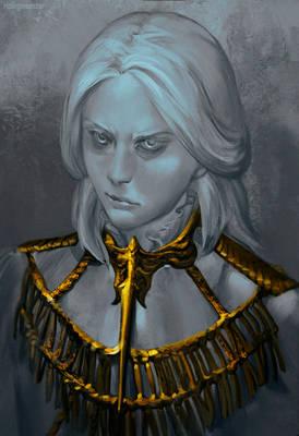 Dark Souls Gwyndolin Sketch