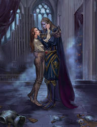 Commission: Count and Countess in Rivenspire by RisingMonster