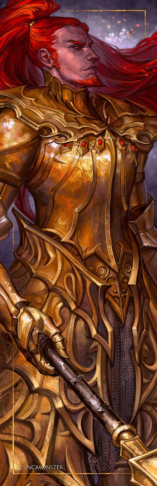 Dark Souls Ornstein: Lion For A Lifetime by RisingMonster