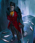 Gotham TV Series: Penguins Eat Fish