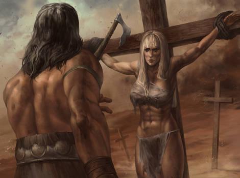 Conan and Gabriela (for Snowdog-Zic)