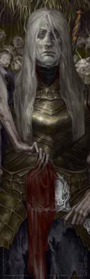 Dark Souls: Lorian, Elder Prince face concept