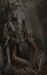 Dark Souls: Aldrich, Gwyndolin. Incubare