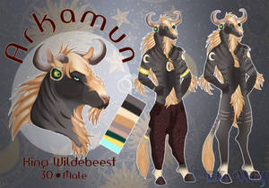 Arkamun REF Sheet