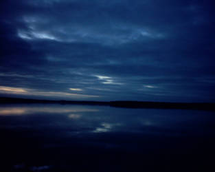 Midnight loch by 4gottendream