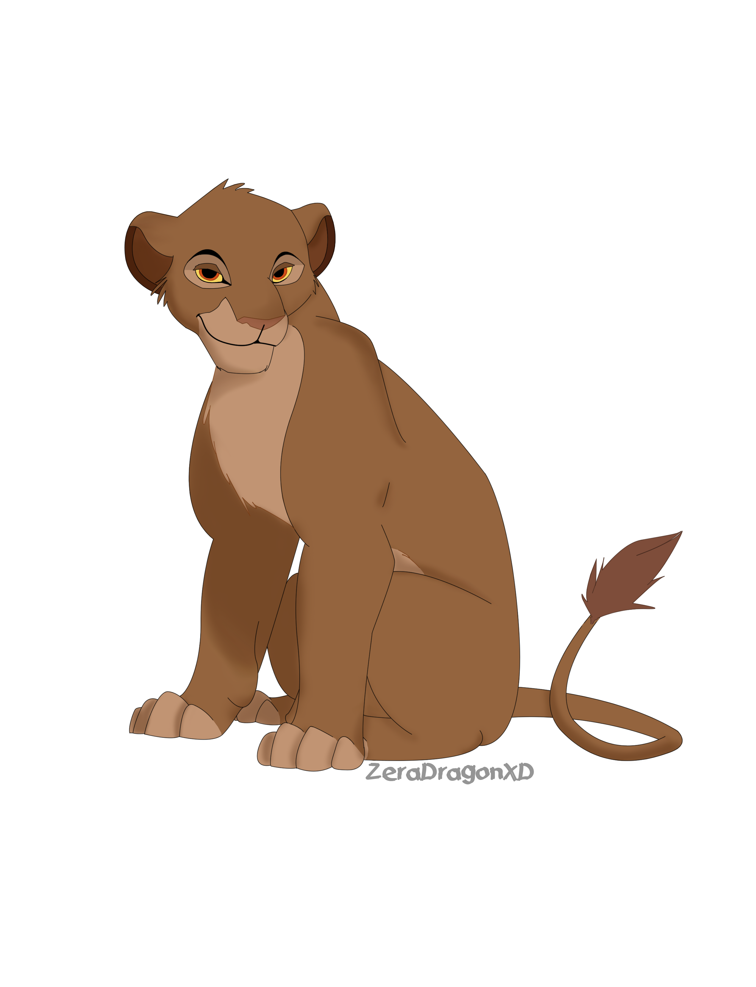 Teen Sarabi by Mganga-The-Lion on DeviantArt