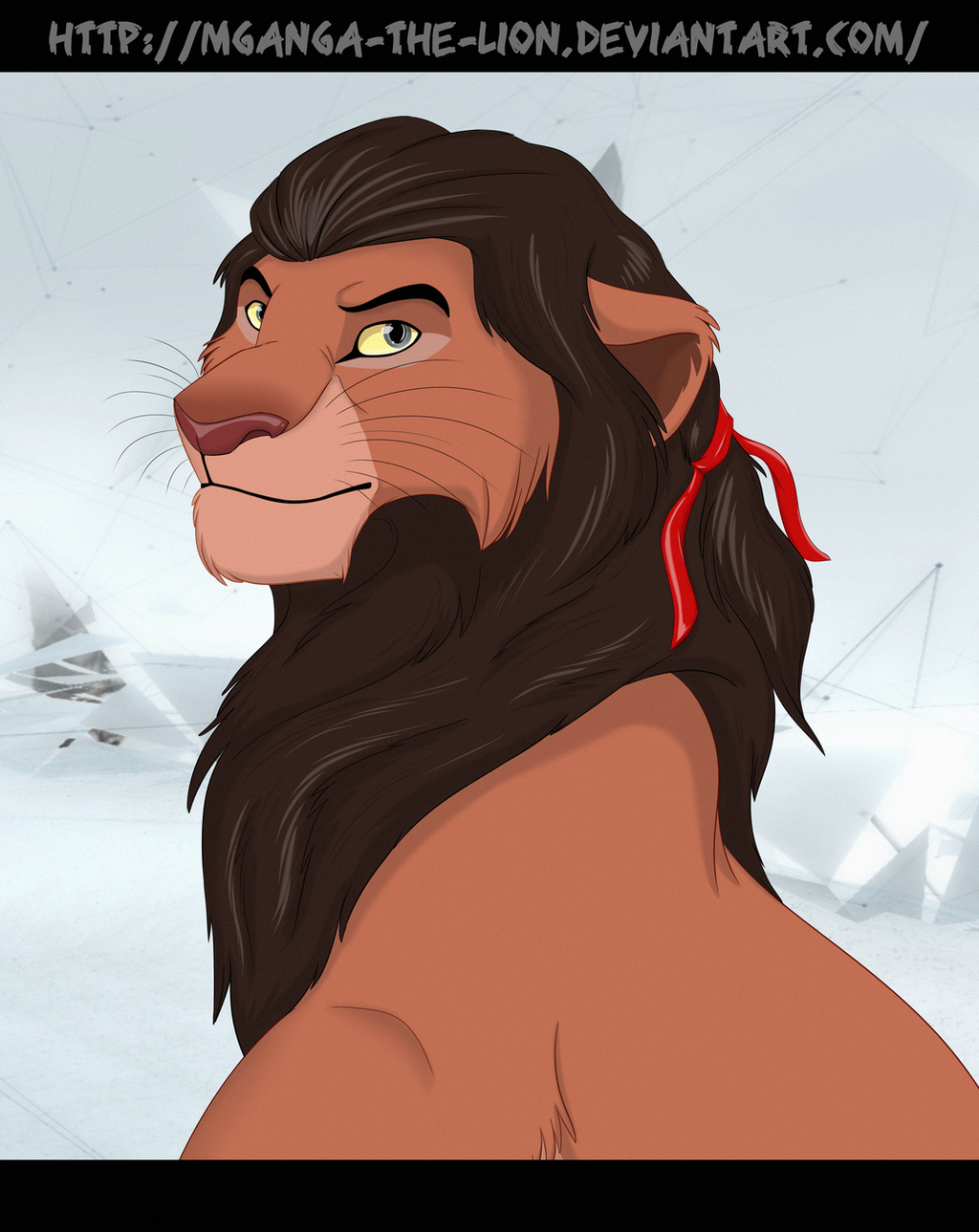 Haytham_lion by Mganga-The-Lion