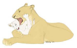 - Moooom! by Mganga-The-Lion