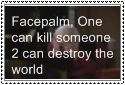 Face palm stamp by CookiesAreTasty