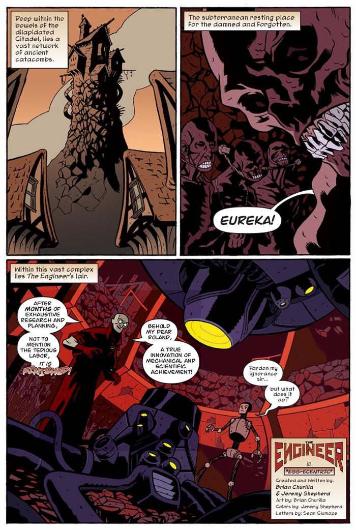 Popgun Volume 1 - Comic Book Lettering by seanglumace