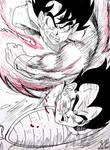 Kaioken Goku vs Vegeta