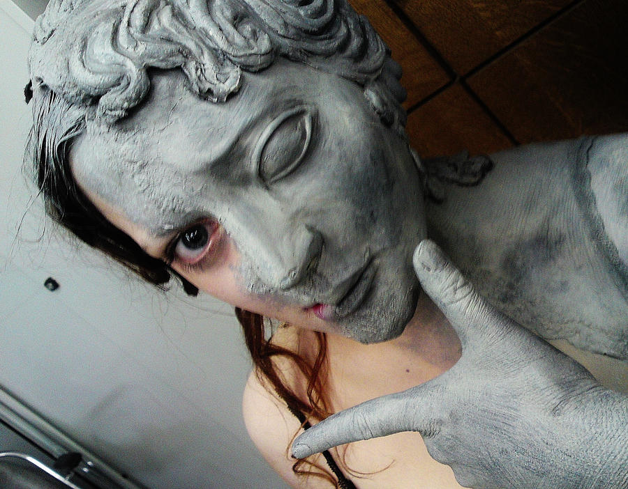 backstage weeping angel by