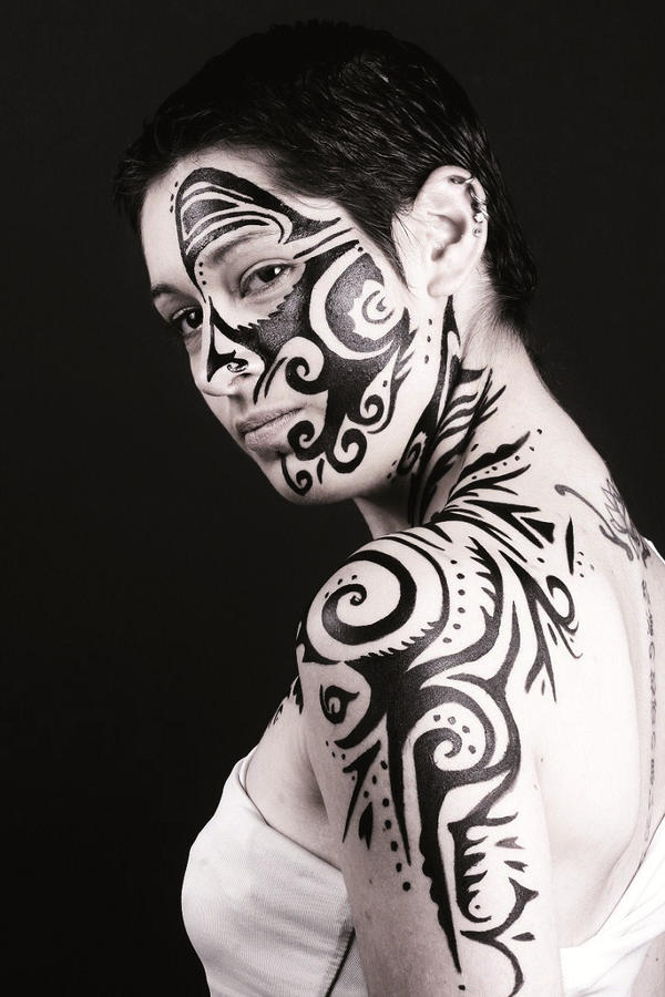 yoruba and maori body art The nigerian-born artist, who goes mononymously by laolu, told abc news  today he finally saw his yoruba body art come to life for the first.