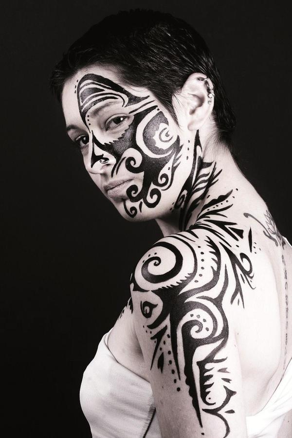 yoruba and maori body art