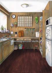 Cozy kitchen by OlschiOlschi