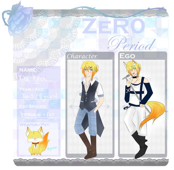 Zero-Period App: Riku Xyllea by Mishierru