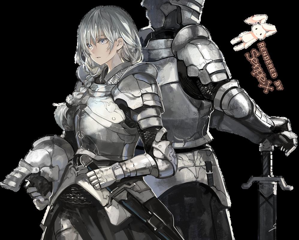 [Render] Winter Knights By SenpieX On DeviantArt