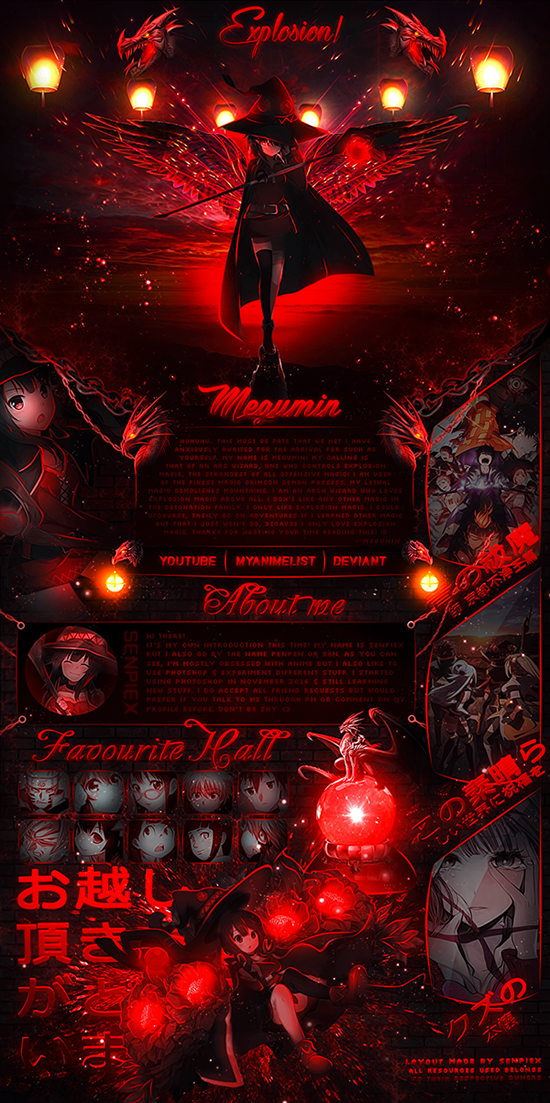 [MAL Profile] EXPLOSION! by SenpieX