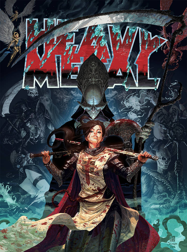 Heavy Metal - Court of the Dead
