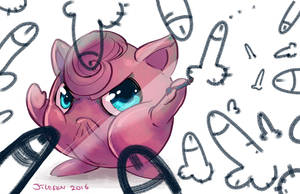 Jigglypuff by red-monkey