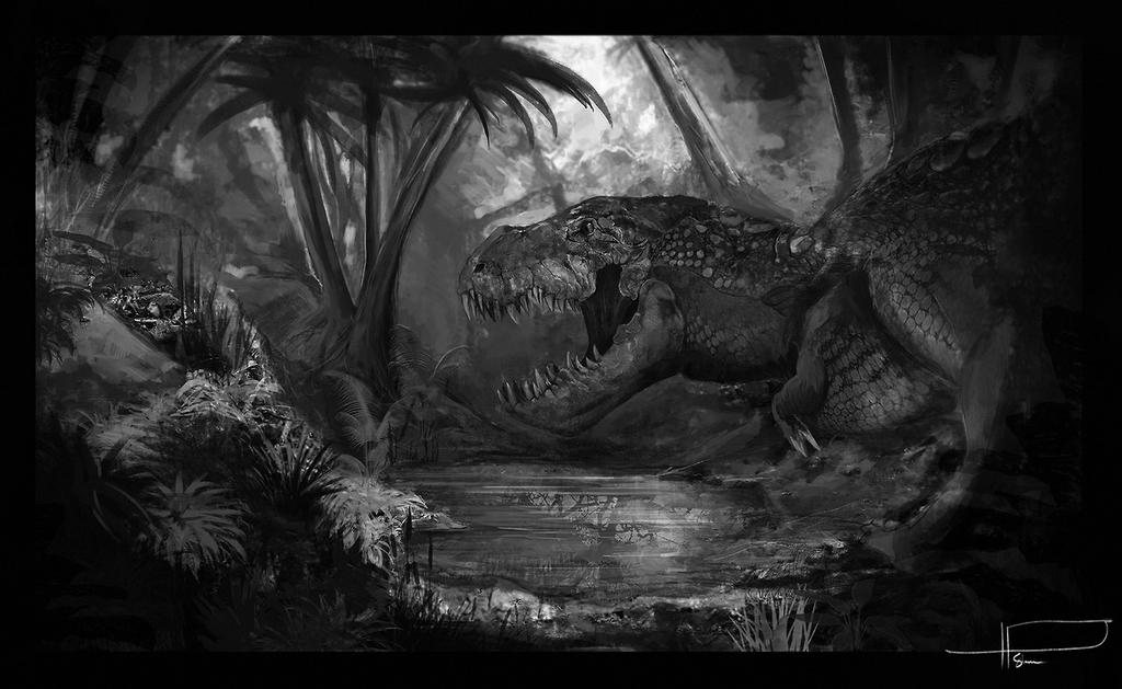 T-rex by ID-Stahlberg