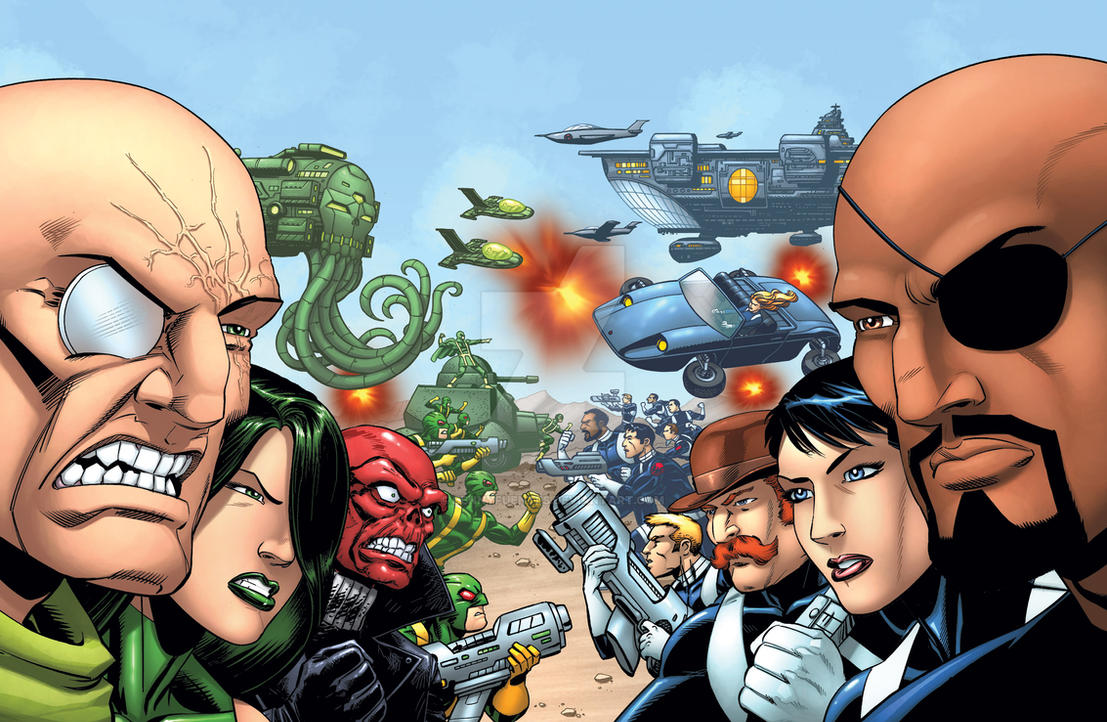 Greatest Battles: SHIELD vs. HYDRA by bennyfuentes