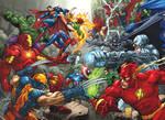 Marvel Vs DC commission