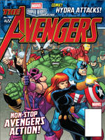 Marvel Super Heroes - The Avengers Magazine cover by bennyfuentes
