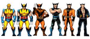 Hero Profile Wolverine Spot Characters 3