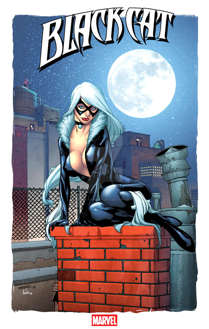 Black Cat print by Carlo Barberi by bennyfuentes