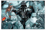 Attack on Hoth color commission