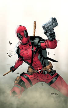 Deadpool exclusive print for Fanboy Media and Art