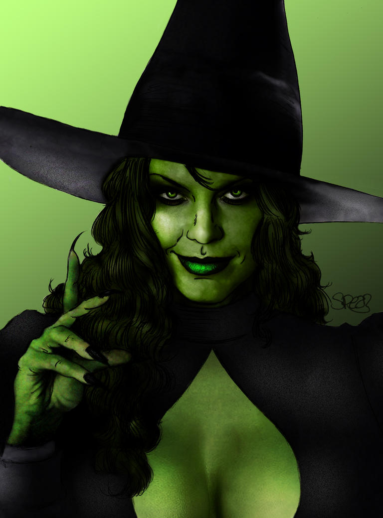 Wicked Witch by Spears by markman777