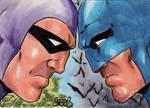 The Phantom vs Batman