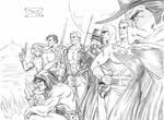 PULP HEROES ZORRO FLASH GORDON SHADOW PHANTOM