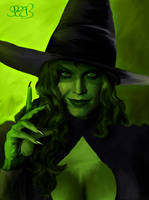 Wicked Witch of the West art by Mark Spears by markman777