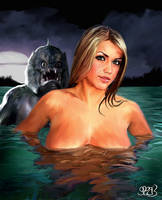 Creature from the Black Lagoon by Mark Spears by markman777