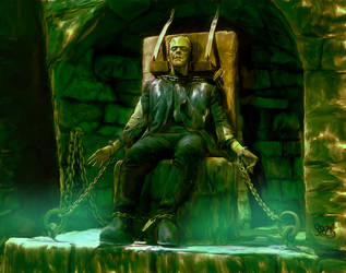 Frankenstein Monster by Mark Spears by markman777
